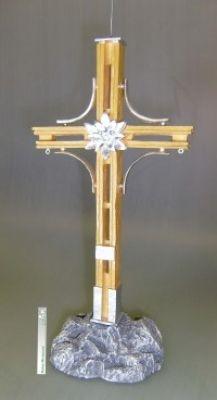 Gipfelkreuz, Kunststoff, ca. 25 cm ,Kunststoff