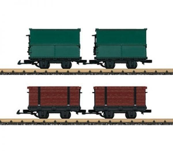 Feldbahnwagen-Set / LGB 49190
