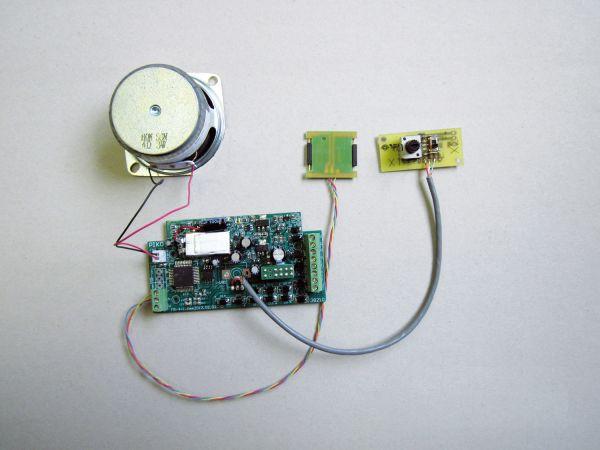 G-Analoger Sound Kit Dampflok Europa / piko 36194