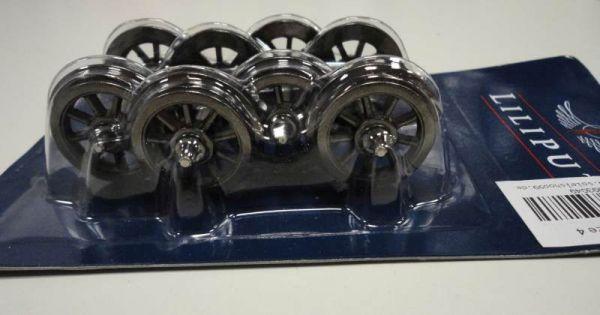 Speichen-Metallradsätze / Achsen 4 Stck / 31,4 mm