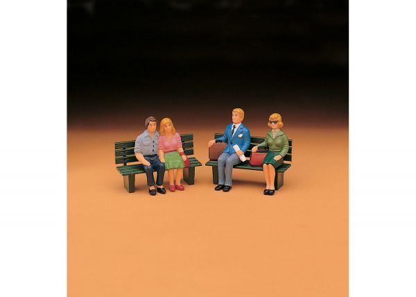 Reisende, sitzend, Set 2 / lgb 52390