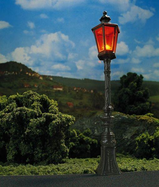 2 Oldtimer-Straßenlampen, braun
