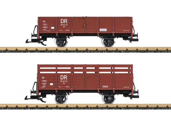 Off.Güterwagen-Set DR / LGB 40031