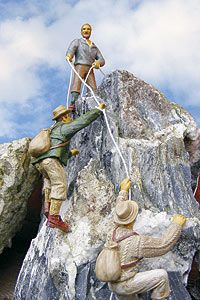 Bergsteiger, Set 1, 3 Figuren