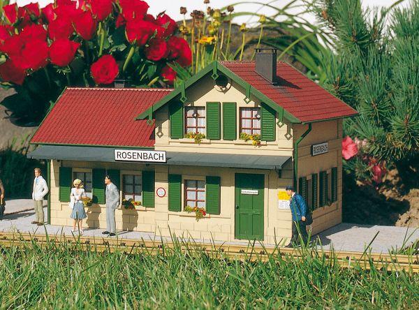 Bahnhof Rosenbach / piko 62040