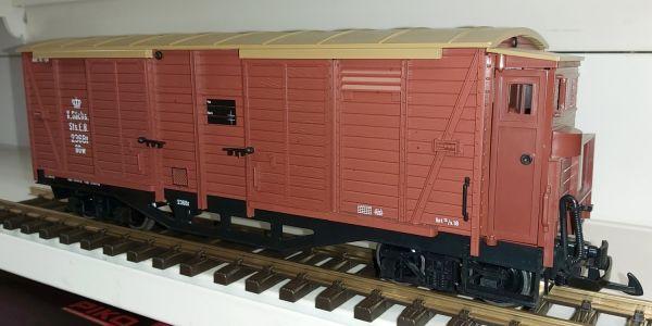 LGB 39359-01 ,Güterwagen 4achs Metallachsen / aus A&V