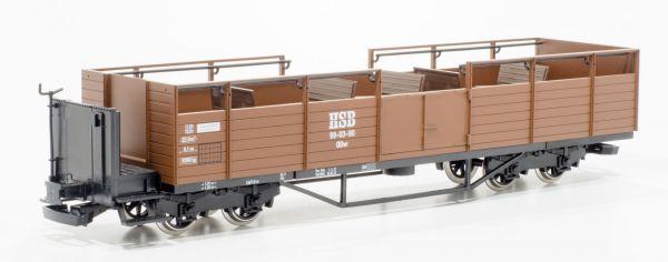 HSB Schienencabrio 99-03-90 / Aussichtswagen