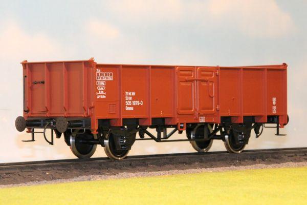 O-Wagen, Ommu 40.0, DR, Spur II / boermann 0006-0003
