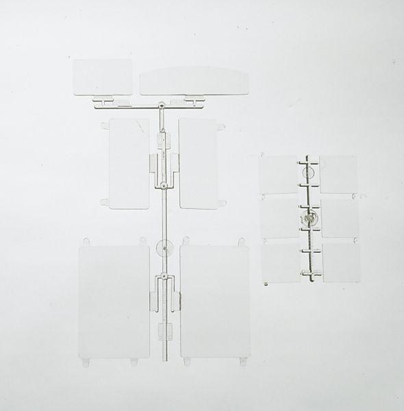 G-Bauteile: Sort. Fenstergläser / piko 62813