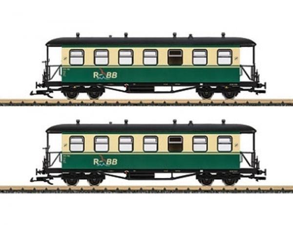 Personenwagen-Set Rü.BB / LGB 35359