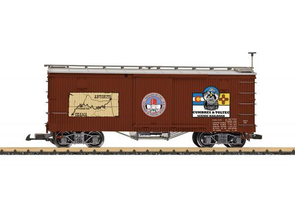 Cumbres & Toltec Boxcar / lgb 40671