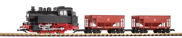 G-Start-Set Güterzug BR 80 + 2 Schüttgutwg. / Piko 37100
